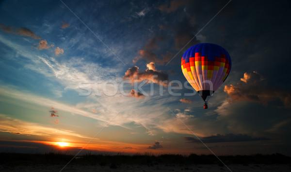 Romance of the flight Stock photo © rozbyshaka