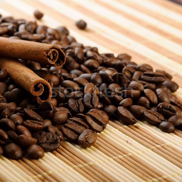 Stock fotó: Aromás · kávé · fahéj · étel · természet · űr