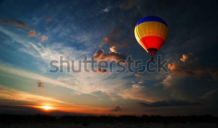 旅行 夢 明るい カラフル 熱気球 スペース ストックフォト © rozbyshaka