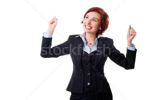 successful businesswoman Stock photo © rozbyshaka