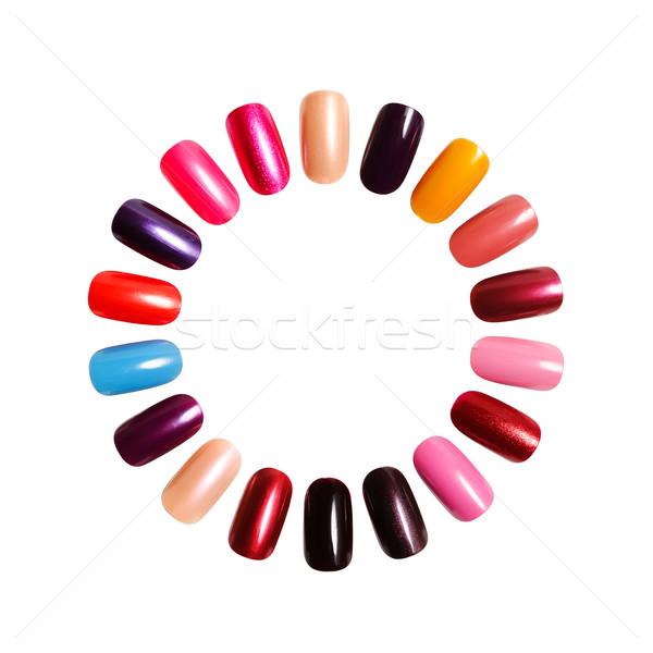 nails  Stock photo © rozbyshaka