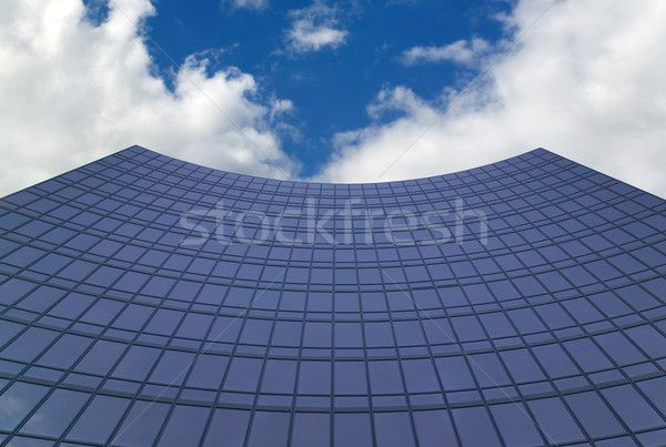 Curved office building. Stock photo © RTimages