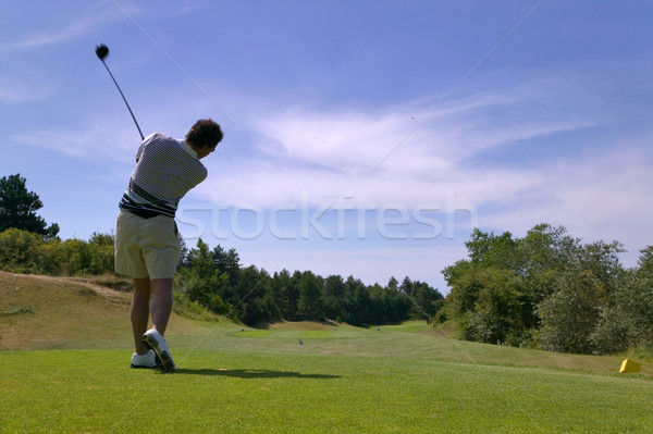 Teeing off Stock photo © RTimages