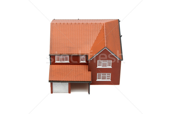 Model house from above isolated Stock photo © RTimages