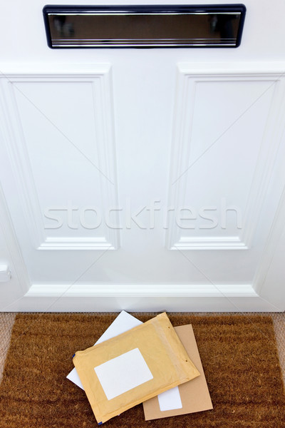 Letters on the doormat Stock photo © RTimages