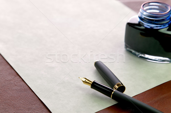 Write a letter Stock photo © RTimages