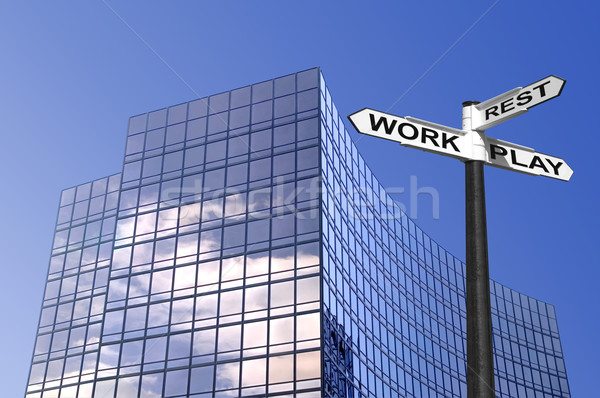 Work Rest & Play Stock photo © RTimages