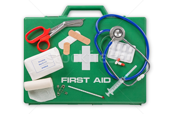 First Aid Kit Stock photo © RTimages