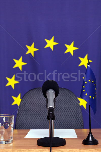 European news desk Stock photo © RTimages