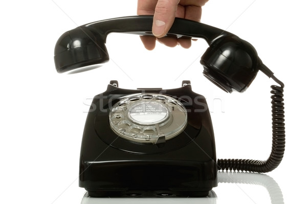 Pick up the phone. Stock photo © RTimages