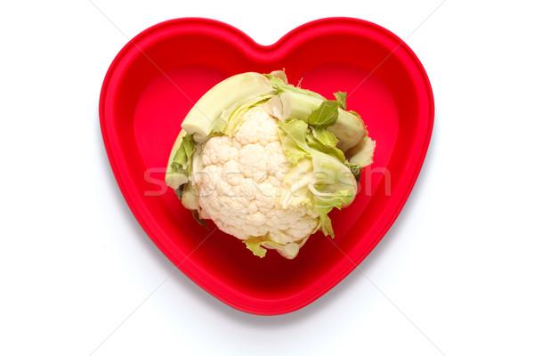 I love cauliflower concept photo. Stock photo © RTimages