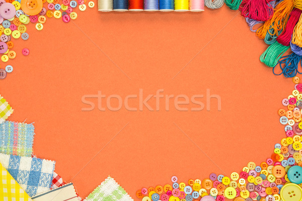 Arts and Crafts background with copy space Stock photo © RTimages