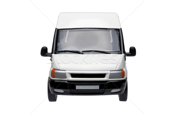 White van front Stock photo © RTimages