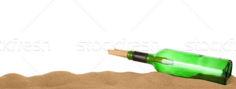 Message in a bottle Stock photo © RTimages