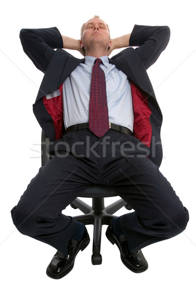 Businessman asleep. Stock photo © RTimages