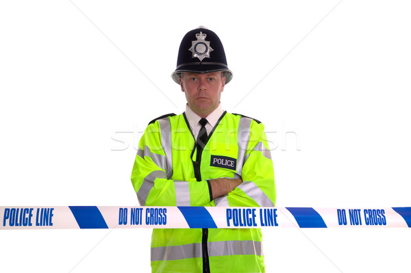Police Line Stock photo © RTimages