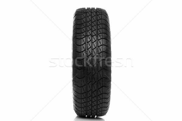 Photo of a car tyre (tire) wheel isolated on white Stock photo © RTimages