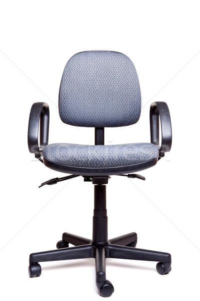 Office swivel chair front facing white background Stock photo © RTimages