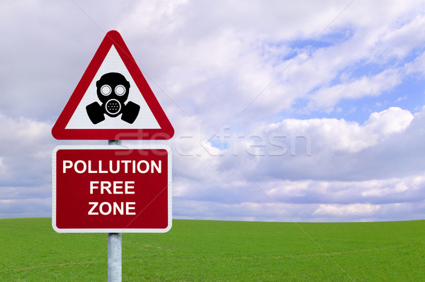 Pollution Free Zone Stock photo © RTimages
