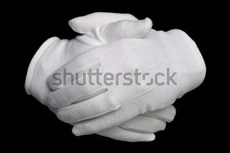 Hands clenched Stock photo © RTimages