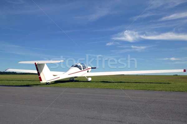 White aircraft Stock photo © RTimages