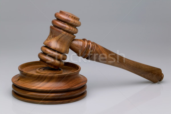 Gavel and block Stock photo © RTimages