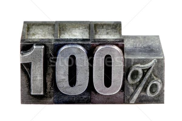 100 古い 印刷 ブロック 孤立した ストックフォト © RTimages