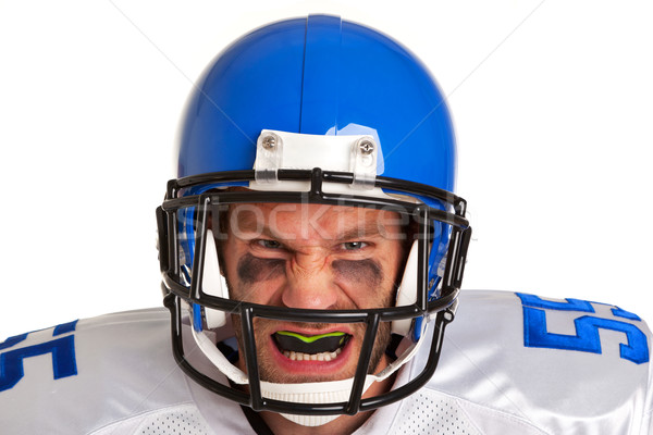 Stock photo: American football player cut out