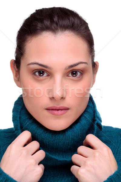 Beautiful brunette woman Stock photo © RTimages