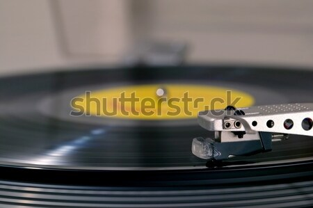 Record player side view Stock photo © RTimages