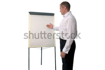 Blank brainstorm Stock photo © RTimages