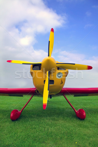 Red and Yellow plane Stock photo © RTimages