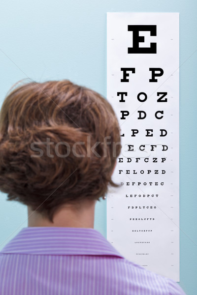 Eye test Stock photo © RTimages