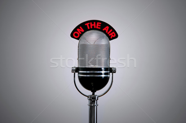 On the Air Microphone Stock photo © RTimages