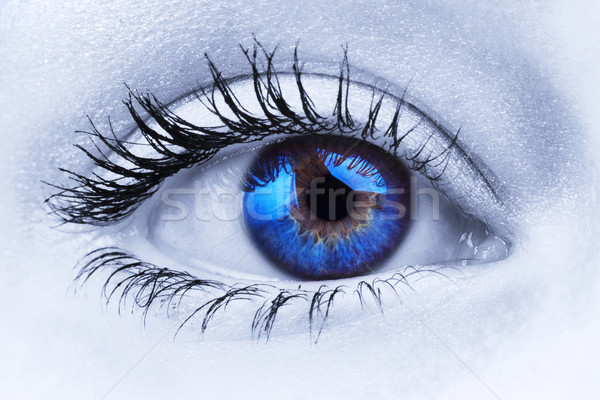 Abstract blue eye Stock photo © RTimages