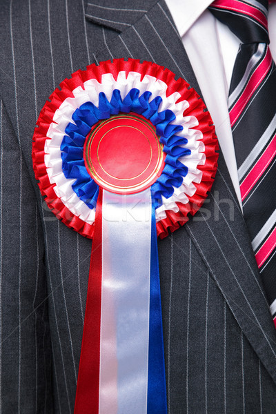 Rosette on suit close up. Stock photo © RTimages