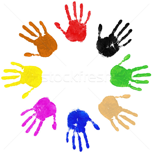Hands Circle Stock photo © RTimages