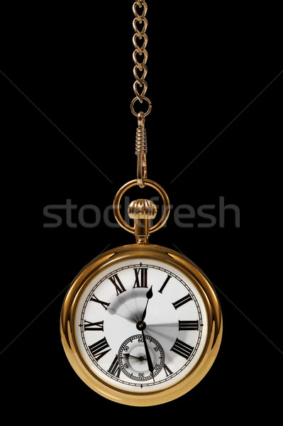 Movement of time black Stock photo © RTimages