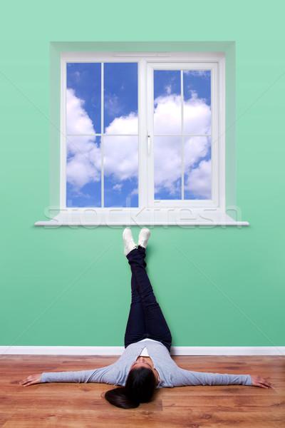 Blue sky thinking Stock photo © RTimages