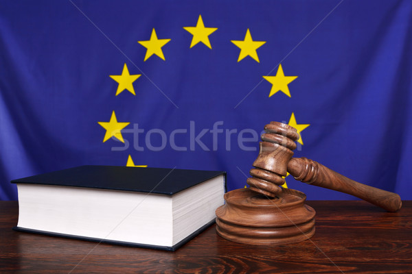 European law Stock photo © RTimages