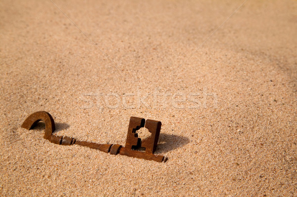Buried key Stock photo © RTimages