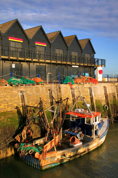 Whitstable Harbour sunrise. Stock photo © RTimages