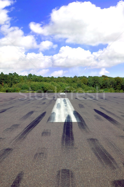 Empty runway Stock photo © RTimages