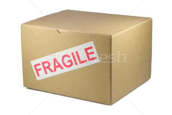 Fragile box Stock photo © RTimages