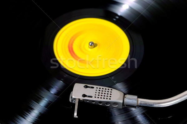 Record player looking down Stock photo © RTimages
