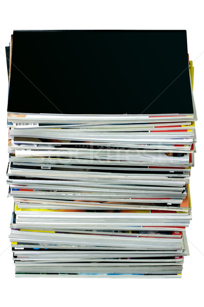 Stack of magazines Stock photo © RTimages