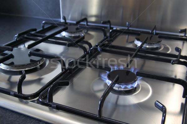 Gas hob Stock photo © RTimages