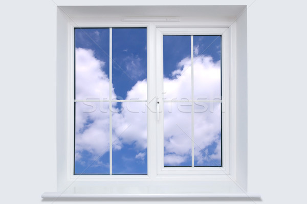 Window and blue sky Stock photo © RTimages