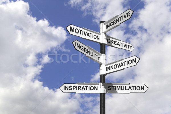 Motivational Signpost Stock photo © RTimages