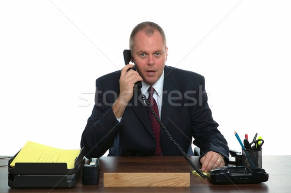 Businessman phone call Stock photo © RTimages